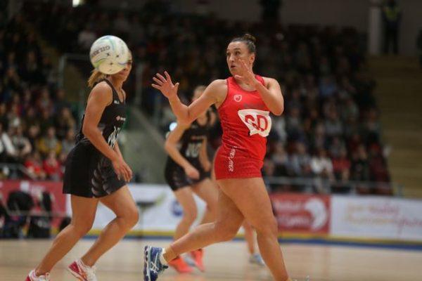 Fern Davies Wales Netball