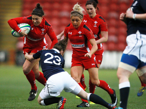 Gemma Rowland Wales Rugby 2